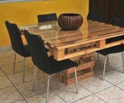 table de cuisine en palette table à manger en palettesmeuble en palette meuble en palette
