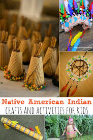 native american indian crafts and activities for kids simply