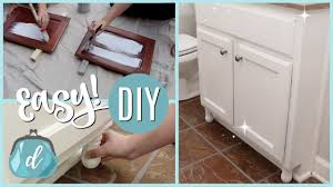 how to paint cabinets fast chalk paint customize cabinets on a dime fast how to tutorial