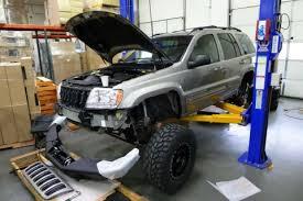 lift kit for 2012 jeep grand jeep grand wj builds bushwacker