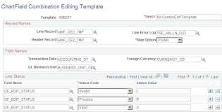 setting up combination editing