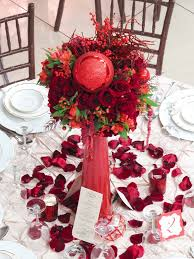 Christmas Wedding Decor - picture of awesome christmas wedding centerpieces