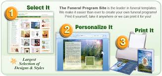 Where To Print Funeral Programs Obituary Template Templates For Obituaries