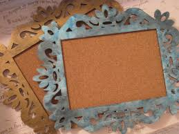 the beauty of etcetera diy vintage frame bulletin board