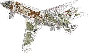 Private Jet Floor Plans Falcon 900lx