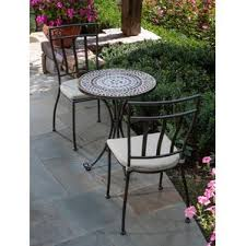 Mosaic Patio Furniture by Mosaic Patio Dining Sets You U0027ll Love Wayfair