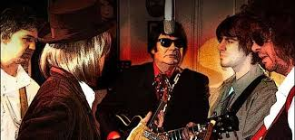 traveling wilburys end of the line images Roy orbison the traveling wilburys tribute buxton opera house jpg