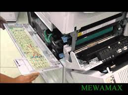 mewamax mp4500 mp3500 af2035 af2045 paper jam