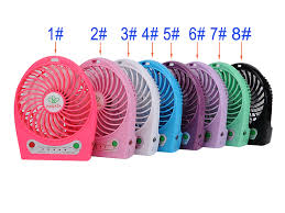 held battery operated fans usb fan mini battery operated 5v 18650 desk fan for travel cing