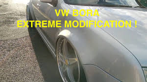 volkswagen bora modified volkswagen bora extreme modification youtube