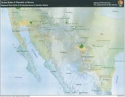 Colorado National Parks Map by Southwest Border Resource Protection Program U S National Park