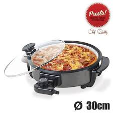 poele electrique cuisine poêle électrique céramique presto pan 30 cm achat vente poêle