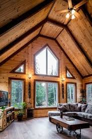 Thousands Of Ideas About Log Endearing Log Homes Interior Designs - Log homes interior designs