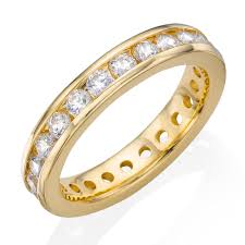 eternity rings gold images 9ct gold cubic zirconia full eternity ring 0000949