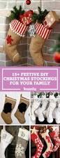 18 diy christmas stockings make christmas stockings craft