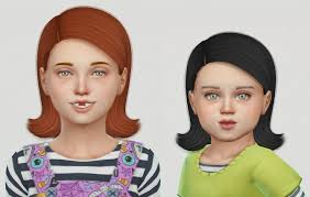 sims 4 kids hair spring4sims ade riri hair kids toddlers by simiracle for the sims 4