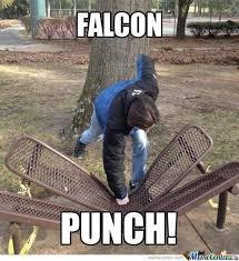 Falcon Punch Meme - falcon punch by snkieche meme center