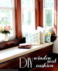 How To Make A Window Bench Seat Cushion Diy Window Seat Cushion Christinas Adventures