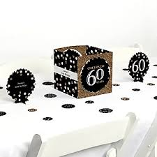 60th birthday centerpieces for tables 60th birthday gold birthday party theme