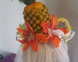 fruit headband pineapple headband etsy