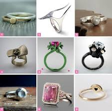 Harry Potter Wedding Rings by Alternative Engagement Rings From Etsy Weddbook