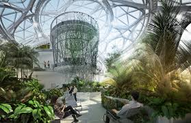 amazon goes big with new hq biosphere in seattle