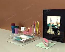 lucite desk accessories aliexpress com buy acrylic stationery desk accessories