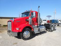kenworth tractor trailers for sale used 2007 kenworth t800 tandem axle daycab for sale in ms 6371