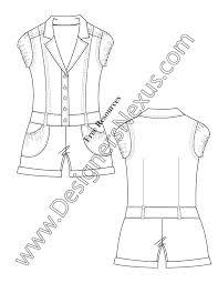 free downloads illustrator pants flat sketches