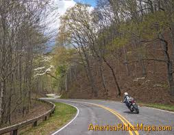 America Rides Maps by A Good Motorcycle Ride The Road To Nowhere Smoky Mountain