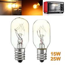 Glass In Toaster Oven High Temperature 15w 25w Incandescent Bulb E12 Salt Lamp Toaster