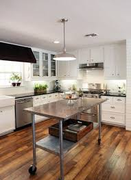 stainless steel kitchen island on wheels stainless steel kitchen island carts islands work regarding remodel