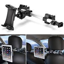 support tablette voiture entre 2 sieges ikross support appuie tête de voiture universel pour tablette de 7 à