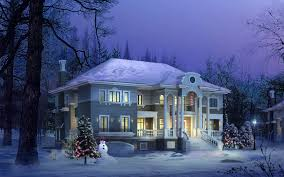 Winter House House