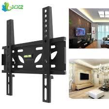 Led Tv Wall Mount With Shelves Click To Buy U003c U003c Universal Tv Wall Mount Bracket Flat Panel Tv