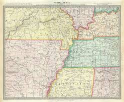 map ky and tn kentucky tennessee map david h burr kentucky and tennessee 1834
