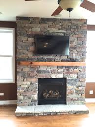 mountain ledgestone stone veneer fireplace picture gallery north