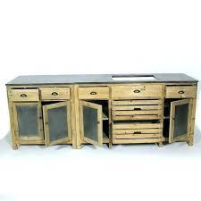 meubles cuisine bois massif meuble cuisine bois recycle meuble de cuisine bois massif en pas