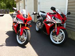 2012 Honda Cbr600rr The Brothers Are Back To Matching 2012 Cbr600rr Red And White