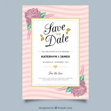 wedding invitations freepik floral wedding invitation with golden elements vector free