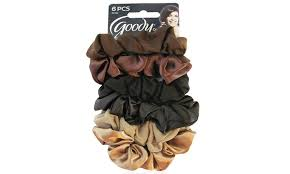 hair scrunchies goody ouchless satin hair scrunchies 6 pack groupon