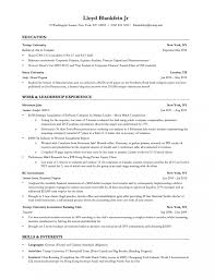Best Resume Example by Investment Banking Resume Template Berathen Com