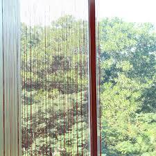 Curtain Separator 2m 1m 12 Colors String Curtains Door Window Panel Curtain Divider