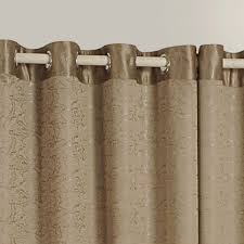 Brown Blackout Curtains Buy Brown Jacquard Blackout Curtains For Your Living