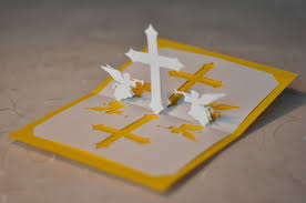 christian cross pop up card template creative pop up cards