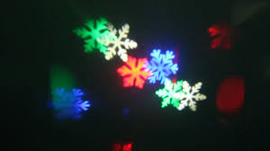 Outdoor Snow Light Projector by 3w 4 Pcs Leds Big Power Led Snowflake Projector For Outdoor Can