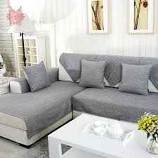 Sofa With Chaise Slipcover Slipcover For Sectional Sofa With Chaise Centerfieldbar Com