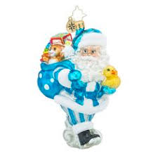 radko once upon a time baby ornament 2013 christopher radko baby