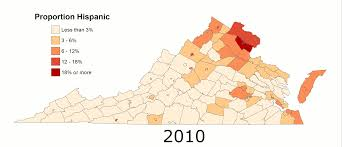 Blank Map Of Virginia by Majority Minority By 2040 Statchat