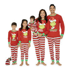 the grinch family pajamas jcpenney